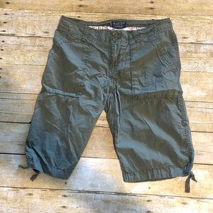 Bermuda Shorts Drawstring Hems W32 R9 L12.5